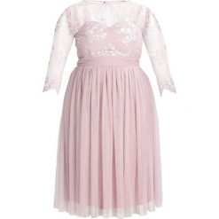 Sukienki hiszpanki: Little Mistress Curvy Sukienka koktajlowa mink