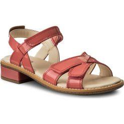 Sandały dziewczęce: Sandały CLARKS – Darcy Charm 261337646 Coral Patent