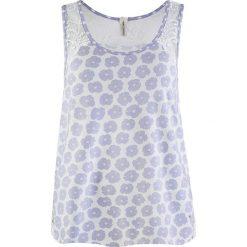Piżamy damskie: Koszulka piżamowa w kolorze błękitnym