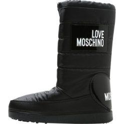 Buty zimowe damskie: Love Moschino SKI  Śniegowce nero