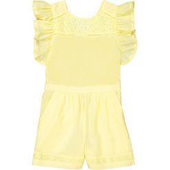 Odzież dziecięca: Kombinezon spodenki, koronkowa wstawka 3-12 lat