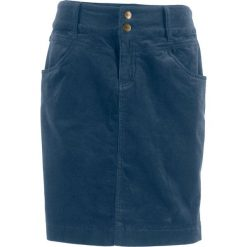 Spódnica sztruksowa bonprix ciemnoniebieski. Niebieskie spódniczki marki Mads Nørgaard, z bawełny. Za 37,99 zł.