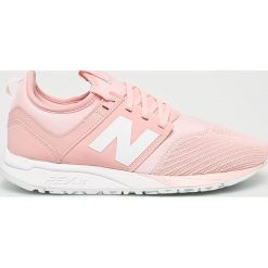 New Balance - Buty WRL247EM. Szare buty sportowe damskie New Balance, z materiału. W wyprzedaży za 349,90 zł.