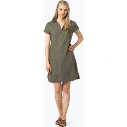 Apriori - Lniana sukienka damska, zielony. Niebieskie sukienki balowe marki Apriori, l. Za 299,95 zł.