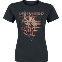 Disturbed Fractured Koszulka damska czarny. Czarne bluzki damskie Disturbed, s. Za 54,90 zł.