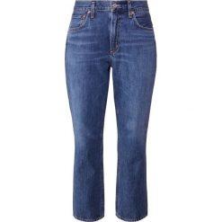Agolde CIGARETTE LOW SLUNK Jeansy Straight Leg vague. Niebieskie jeansy damskie Agolde. Za 919,00 zł.