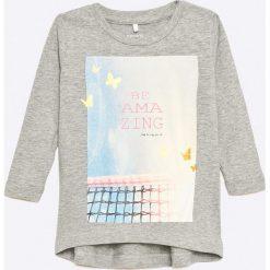 Bluzki dziewczęce bawełniane: Name it - Bluzka dziecięca 68-98 cm