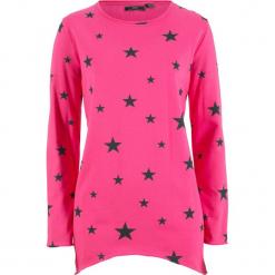 Bluza w gwiazdy bonprix ciemnoróżowy. Czerwone bluzy damskie bonprix. Za 74,99 zł.