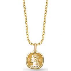 Wisiorek Złoty - złoto żółte 585. Szare łańcuszki męskie marki Reserved, srebrne. Za 549,00 zł.
