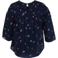 Abercrombie & Fitch SHINE PEASANT Bluzka navy. Niebieskie bluzki dziewczęce bawełniane Abercrombie & Fitch. Za 129,00 zł.