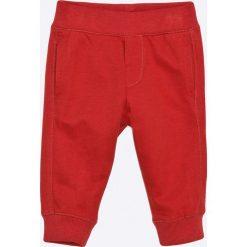 Blukids - Spodnie dziecięce 68-98 cm. Czerwone spodnie chłopięce Blukids, z bawełny. W wyprzedaży za 29,90 zł.