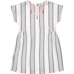 Sukienki dziewczęce: Sukienka w paski, wyszywana, 3-12 lat