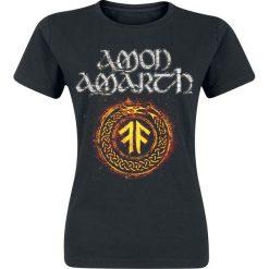 Amon Amarth The pursuit of vikings Koszulka damska czarny. Czarne t-shirty damskie Amon Amarth, s, z nadrukiem, z dekoltem na plecach. Za 74,90 zł.