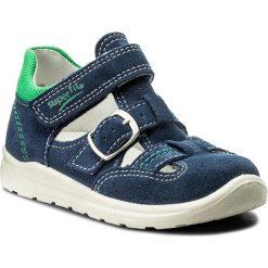 Sandały męskie skórzane: Sandały SUPERFIT – 2-00430-88 S Water Kombi
