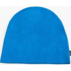 Dzianinowa czapka - Niebieski. Niebieskie czapki zimowe męskie Reserved, z dzianiny. W wyprzedaży za 14,99 zł.