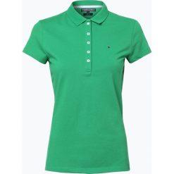 Bluzki sportowe damskie: Tommy Hilfiger – Damska koszulka polo – New Chiara, zielony