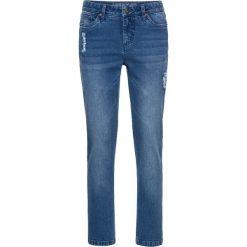 """Dżinsy RELAXED bonprix niebieski """"stone"""". Niebieskie jeansy damskie relaxed fit marki Reserved. Za 99,99 zł."""
