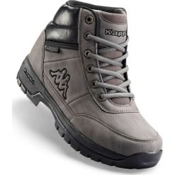 Kozaki sznurowane  Kappa bonprix szary. Czarne buty zimowe męskie marki bonprix, tenisowe. Za 149,99 zł.