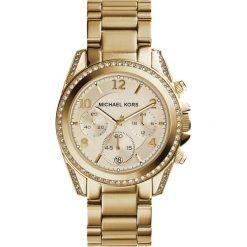 ZEGAREK MICHAEL KORS LADIES GOLD TONE MK5166. Żółte zegarki damskie Michael Kors, ze stali. Za 1369,00 zł.
