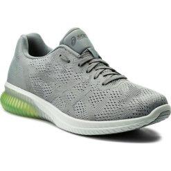 Buty ASICS - Gel-Kenun Mx T838N  Stone Grey/Safety Yellow 1111. Szare buty do biegania męskie Asics, z materiału. W wyprzedaży za 399,00 zł.