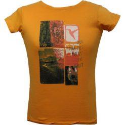 Topy sportowe damskie: BERG OUTDOOR Koszulka damska PARADISE TREE pomarańczowa r. L (P-10-EL5131402SS15-563-L)