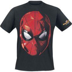 T-shirty męskie z nadrukiem: Spider-Man Homecoming – Web Face T-Shirt czarny