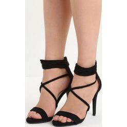 Czarne Sandały Miss Independent. Czarne sandały damskie marki Born2be, na wysokim obcasie. Za 89,99 zł.