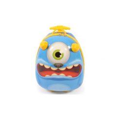 BAYER CHIC 2000 Bouncie Walizka twarda - Monster - niebieski. Czarne walizki marki Jack Wolfskin, w paski, z materiału, małe. Za 159,00 zł.