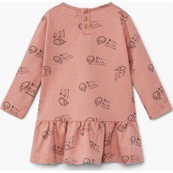 Odzież dziecięca: Mango Kids – Sukienka dziecięca Valencia 80-104 cm