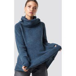 Trendyol Sweter z golfem - Blue,Navy. Niebieskie golfy damskie Trendyol, z materiału. Za 80,95 zł.
