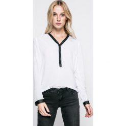 Sublevel - Bluzka. Szare bluzki z odkrytymi ramionami marki Sublevel, l, z tkaniny, casualowe, z krótkim rękawem. W wyprzedaży za 49,90 zł.