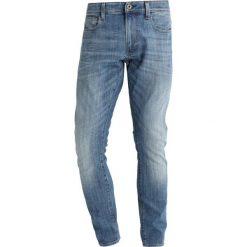 GStar 3301 DECONSTRUCTED SUPER SLIM Jeansy Slim Fit aiden stretch denim. Niebieskie jeansy męskie G-Star. W wyprzedaży za 422,10 zł.