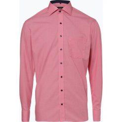 Eterna Modern Fit - Koszula męska niewymagająca prasowania, czerwony. Szare koszule męskie na spinki marki S.Oliver, l, z bawełny, z włoskim kołnierzykiem, z długim rękawem. Za 199,95 zł.