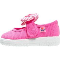 Baleriny damskie lakierowane: Victoria Shoes LONA PANUELO Baleriny z zapięciem fuchsia