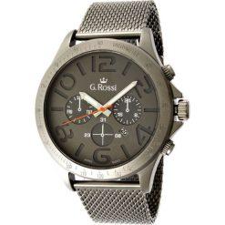 Zegarki męskie: Zegarek Gino Rossi męski Konder srebrny (11520D-1A1-2)