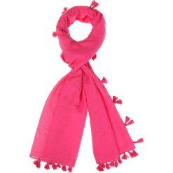 Szaliki damskie: Szal w kolorze różowym