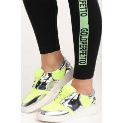 Buty sportowe damskie: Limonkowe Buty Sportowe Glen