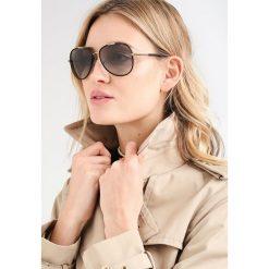 Burberry Okulary przeciwsłoneczne light gold/matte black. Czarne okulary przeciwsłoneczne damskie lenonki Burberry. Za 599,00 zł.