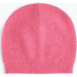 Marie Lund - Damska czapka z czystego kaszmiru, różowy. Czerwone czapki damskie Marie Lund, z kaszmiru. Za 229,95 zł.