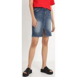 Spódniczki jeansowe: Miss Sixty HAMLIN SKIRT Spódnica ołówkowa  blue denim