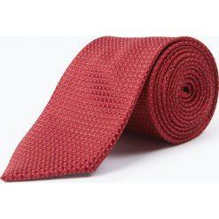 Krawaty męskie: Mc Earl – Krawat jedwabny męski, czerwony
