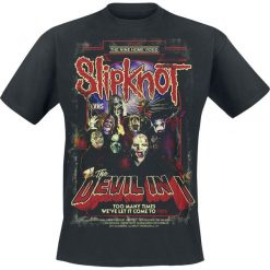 T-shirty męskie z nadrukiem: Slipknot The Devil In I T-Shirt czarny