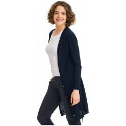 Galvanni Sweter Damski Kalgoorlie Xl Ciemny Niebieski. Niebieskie swetry klasyczne damskie GALVANNI, xl, z wełny. W wyprzedaży za 309,00 zł.