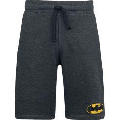 Batman Logo Vintage Krótkie spodenki odcienie ciemnoszarego. Czarne spodenki dresowe męskie marki bonprix, w paski. Za 121,90 zł.