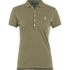 Polo Ralph Lauren JULIE POLO Koszulka polo basic olive. Zielone bralety marki Polo Ralph Lauren, xl, z bawełny, polo. Za 419,00 zł.