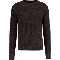 Swetry klasyczne męskie: Pier One Sweter mottled brown
