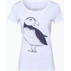 ARMEDANGELS - T-shirt damski — Mari, czarny. Czarne t-shirty damskie ARMEDANGELS, s, z nadrukiem, z bawełny. Za 129,95 zł.