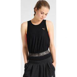Puma EXPLOSIVE  Koszulka sportowa black. Czarne topy sportowe damskie marki Puma, xl, z elastanu. W wyprzedaży za 149,50 zł.