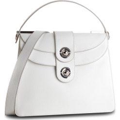 Torebka COCCINELLE - DO5 Leila E1 DO5 12 01 01 Blanche H10. Białe torebki klasyczne damskie marki Coccinelle, ze skóry. Za 1849,90 zł.