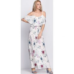 Sukienki: Biała Sukienka Sweet Peach
